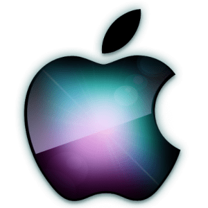 Apple Logo Luminoso