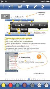Come modificare un documento PDF con l'iPhone