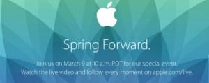 Apple keynote del 9 Marzo: tutte le possibili novità