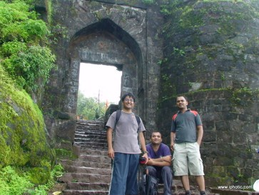 Gate of Sinhgad fort