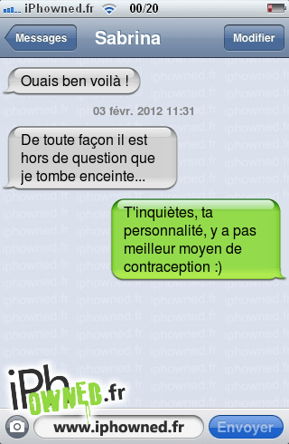 IPhowned Message Sms Drole Texto Rigolo Blagues