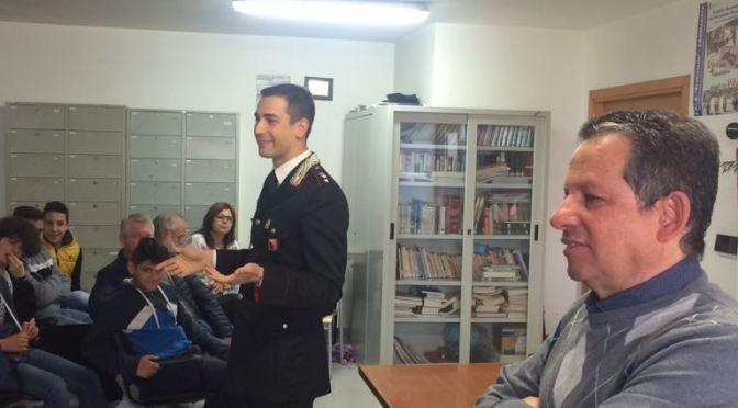 Legalità: a scuola con l'Arma dei Carabinieri