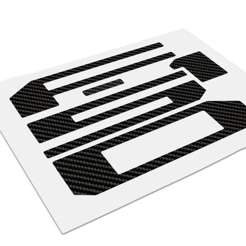 Ford F 150 Tailgate Black Carbon Fiber Texture Letter