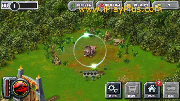 Jurassic Park Builder cheat
