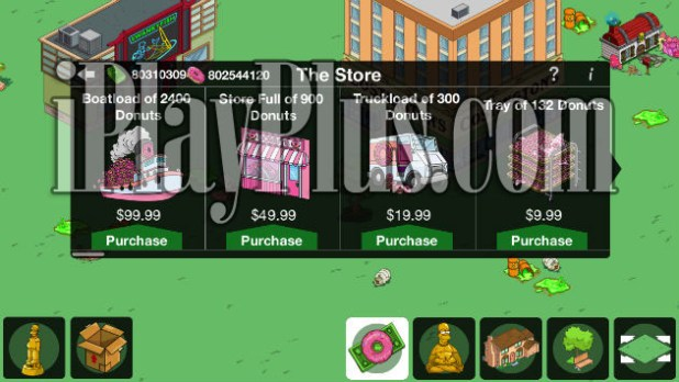 The Simpsons Tapped out cheat