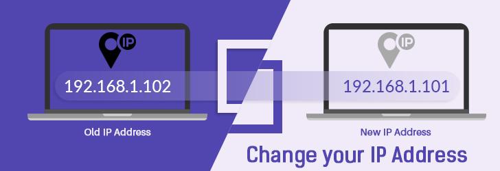 Change IP Address