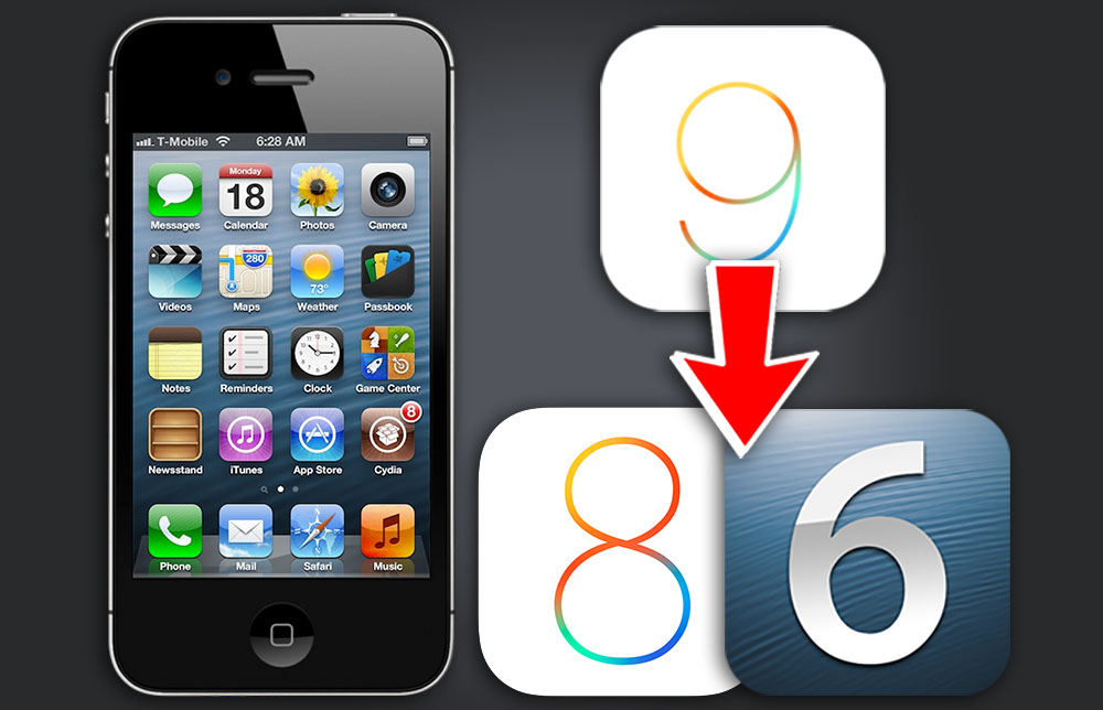 iphone 4 ios 8 how to downgrade iphone 4s from ios 9 3 5 to ios 8 4 1 14386