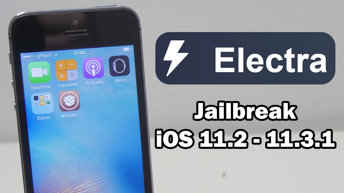 Cara Jailbreak iOS 11.2 - 11.3.1 Menggunakan Electra dan Install Cydia Tanpa Komputer !