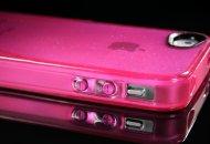 Fundas iSkin claro Glam con brillos para iPhone 4 y 4S