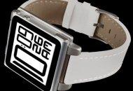 Hex presenta una nueva funda-reloj para el iPod nano con correa de cuero