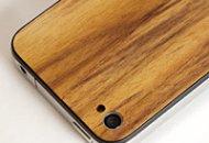 Reemplazo de madera para la parte posterior de tu iPhone