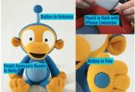 TeeGee: un muñeco para que los más chicos jueguen y aprendan con el iPad