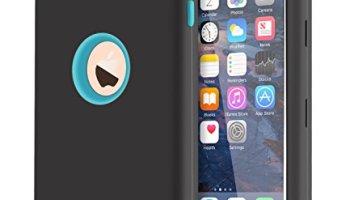 SODIAL(R) Funda Carcasa de Silicona para Apple iPod Touch 4 / 4th ...