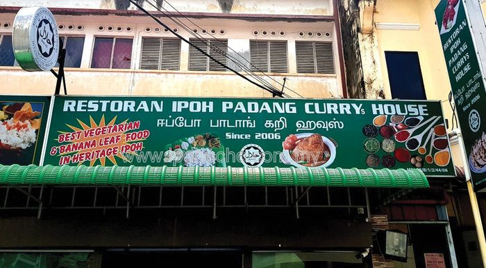 Ipoh Padang Curry House: SeeFoon finally gets her Thosai wish fulfilled