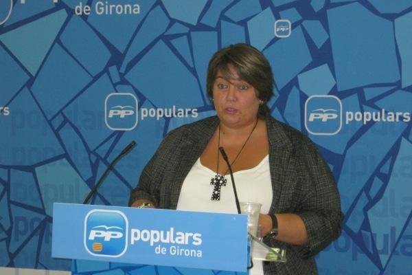 Concepcio Veray los PGE del 2014 en la N-II de Girona