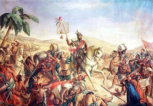 Batalla de Otumba. Hernan Cortés