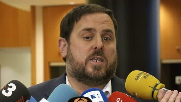 Oriol Junqueras amenaza parar la economía de Catalunya