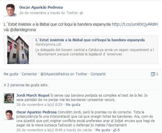 Facebook de Oscar Aparicio Pedrosa
