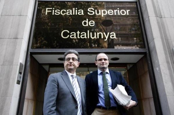Enric Millo en la Fiscalia por la Agencia de Seguridad Catalana