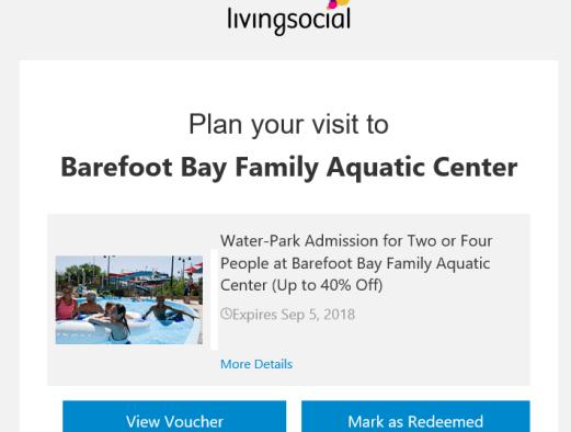 livingsocial behavioral email example