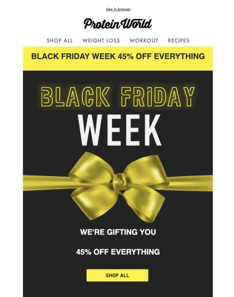 protein world black friday deal