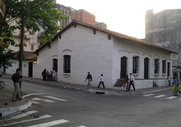 La casa de la independencia del Paraguay 14 y 15 de mayo