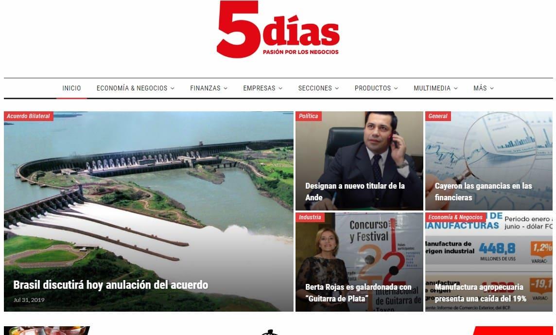 Diario 5 días Paraguay