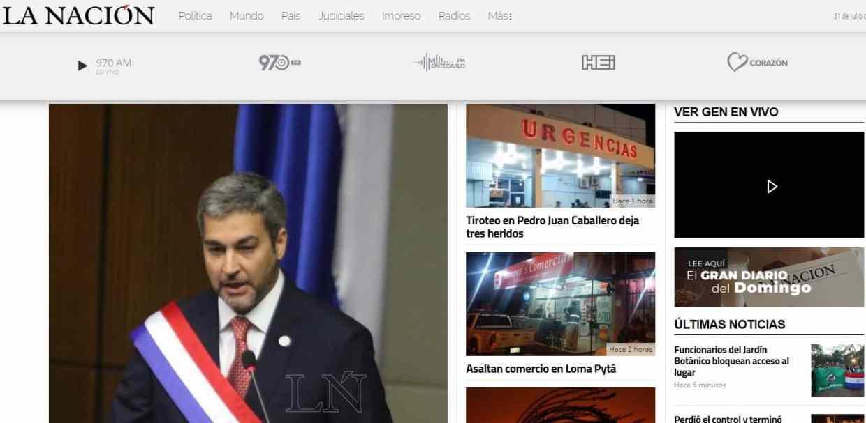 Diario La Nación Paraguay