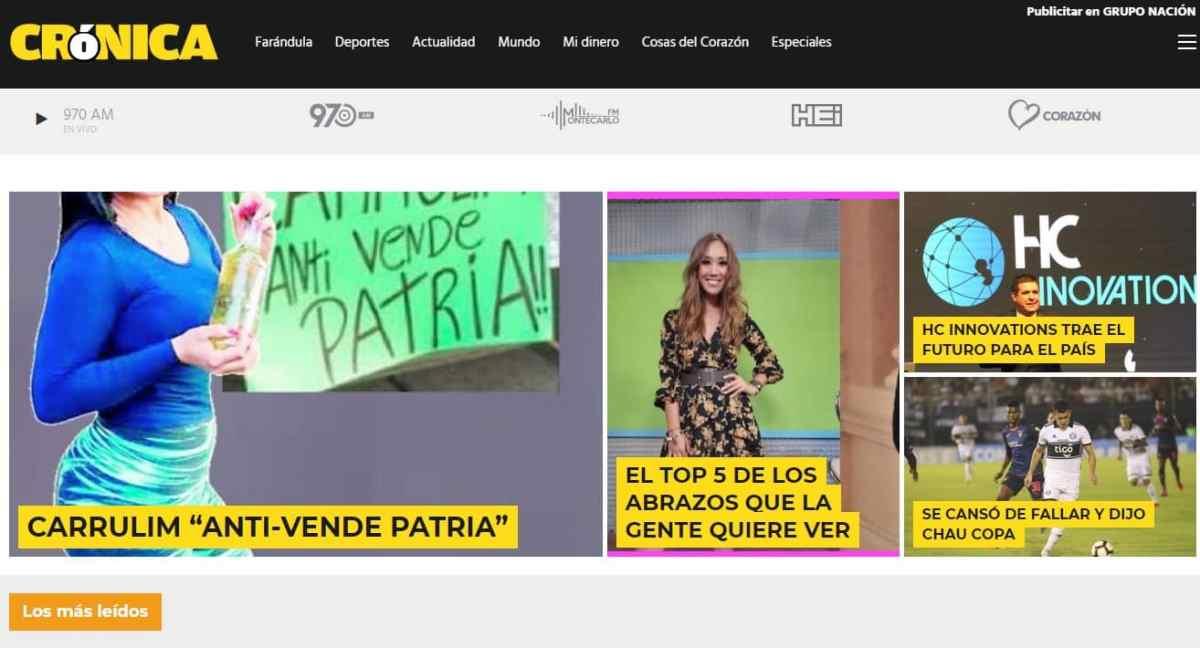 Diarios de paraguay crónica