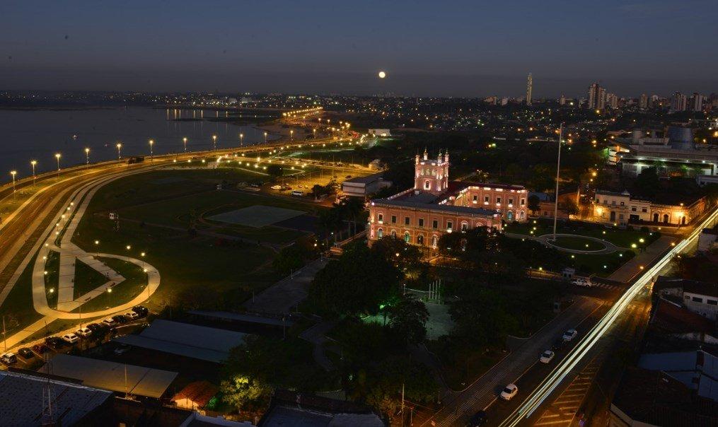 Imágenes desde Paraguay - Costanera Asunción