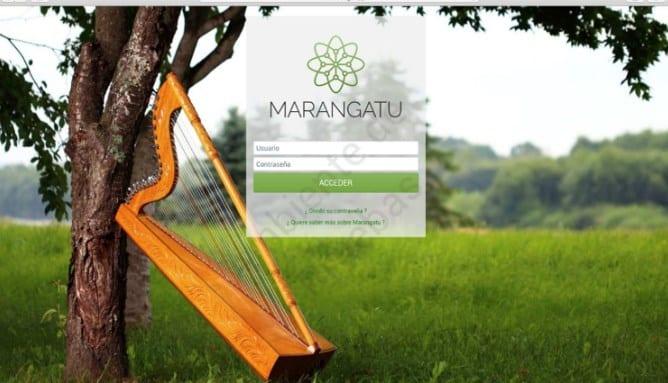 Paso 1 -  Ingrese al Sistema Marangatú con su usuario y clave de acceso.