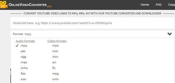 convertidor de videos online