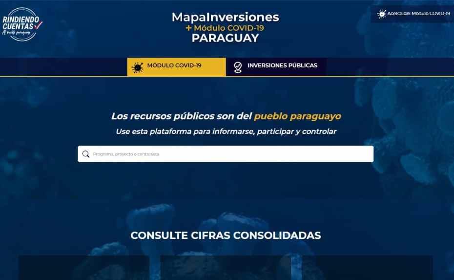 Gobierno pone a disposición de la ciudadanía la plataforma rindiendocuentas.gov.py