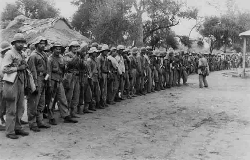 Guerra del Chaco - Soldados paraguayos en Alihuatá 1932
