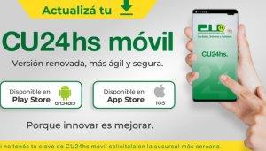 CU24hs App beneficia a los socios de la Cooperativa Universitaria
