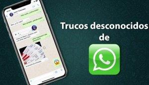 Trucos para aprovechar WhatsApp