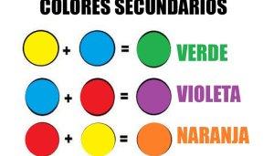 Colores secundarios: creación de colores en cada modelo