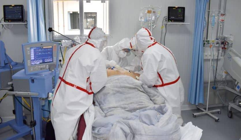 Se espera que alguien muera para liberar una cama en UTI