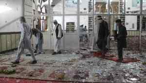 Al menos 32 muertos por explosiones en una mezquita chiita en Afganistán