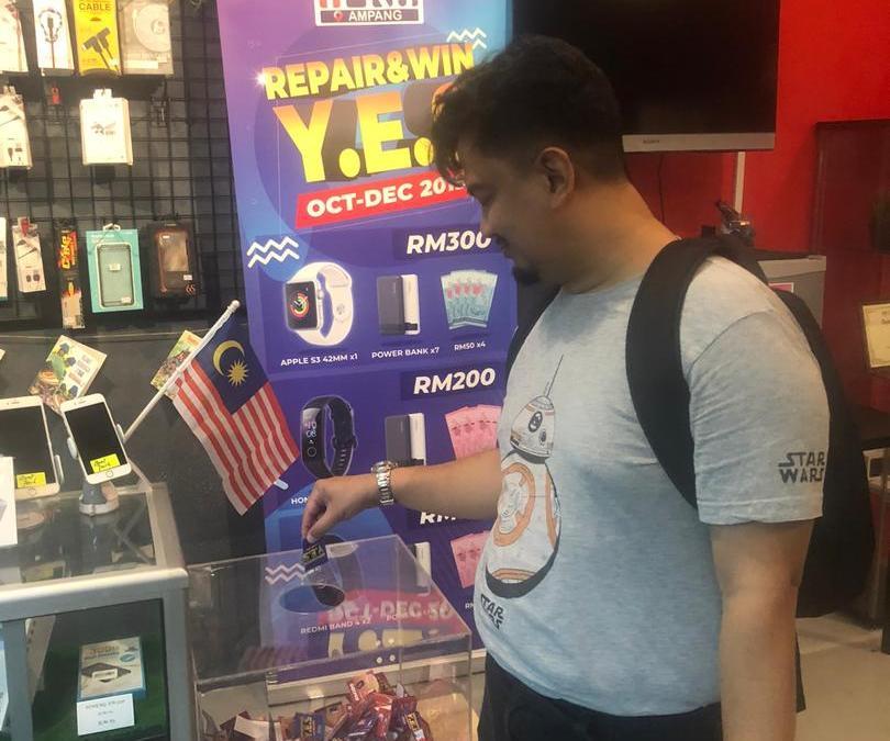 iPad Air 1 Battery Drain Repair At iPro Ampang