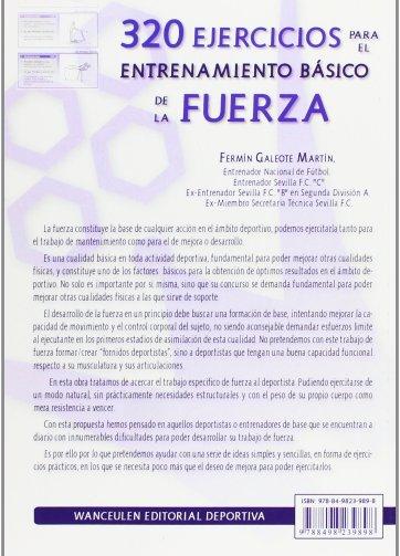 Libro PDF 320 EJERCICIOS PARA EL ENTRENAMIENTO BÁSICO DE LA FUERZA_iprofe.com.ar