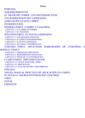 Índice_Libro PDF ¡Éxito coach! Guía definitiva de liderazgo, innovación y triunfo_iprofe.com.ar