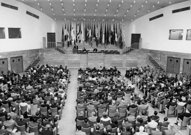 Opening Ceremony of the VIIth IPSA World Congress – Brussels, 18-28 September 1967