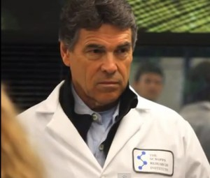 Rick Perry, big fan of stem cells