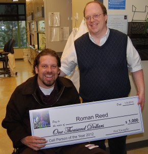Roman Reed Stem Cell Person of the Year