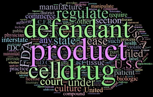 FDA Word Cloud