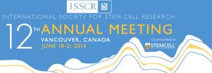ISSCR 2014 Meeting
