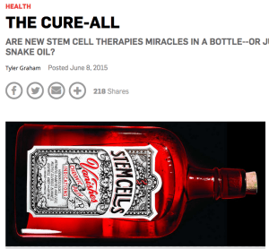 Popular Science stem cells