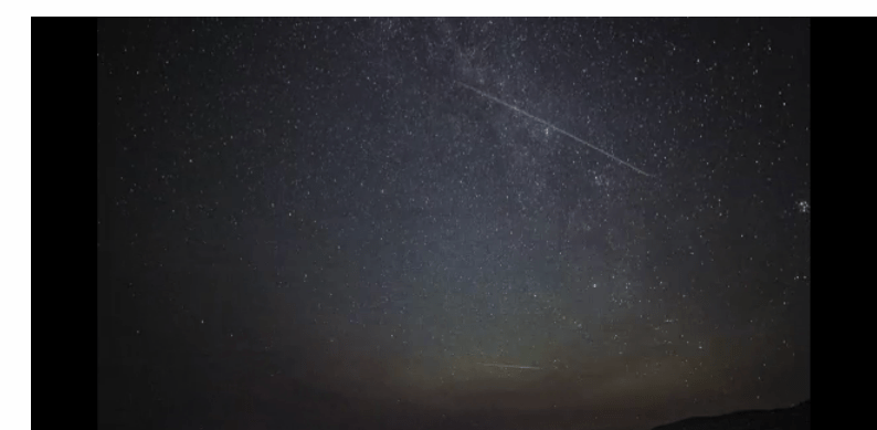 Perseid Meteor Shower
