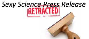 Science Press Release Retraction